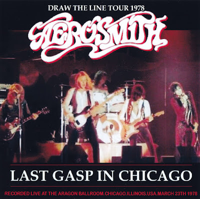 Aerosmith Bootlegs Cover Arts Last Gasp In Chicago 1978