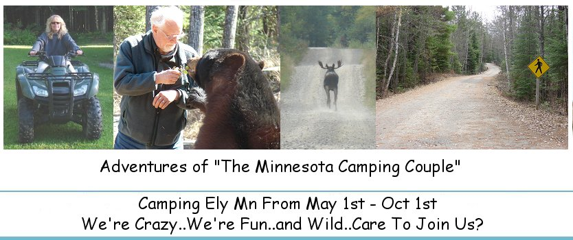 Ely Mn Camping Couple: Fenske Lake Campground
