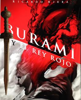 Portada del libro Burami y el Rey Rojo, de Ricardo Riera