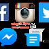 تطبيقات أندرويد : تحميل اخر اصدارات البرامج و تطبيقات التواصل الاجتماعي و المحادثة الفورية على اجهزة اندرويد (facebook-Google Messenger-Instagrame-Twitter)