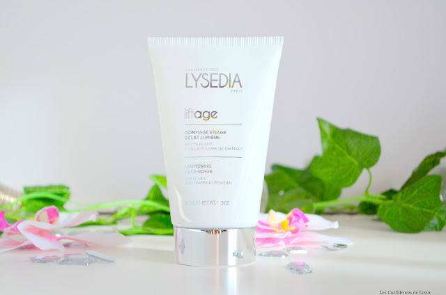 Lysédia - cosmétique - soin - gommage - exfoliant - soin visage - peau lumineuse - grain de peau - lisser - anti-ride