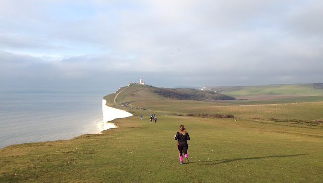 FitBits | Running over Beachy Head Seven Sisters