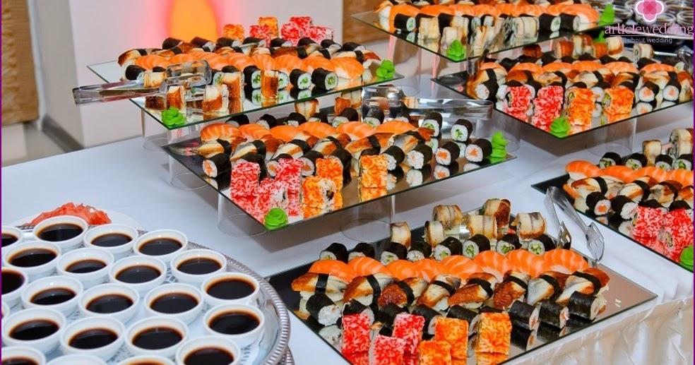 Cudowna Kolorowe Inspiracje Ślubne: Sushi Bar - japońskie klimaty na LU17