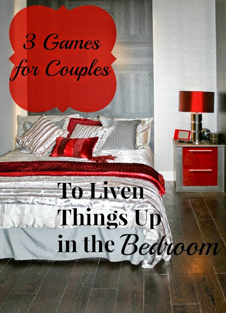 3 games for couples to liven things up in the bedroom.
