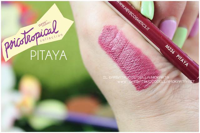 biopastello labbra lippencil PITAYA SWTCHES psicotropical collection neve cosmetics nuova formula