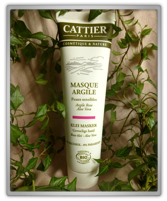 Cattier Paris  Masque Argile roze klei masker