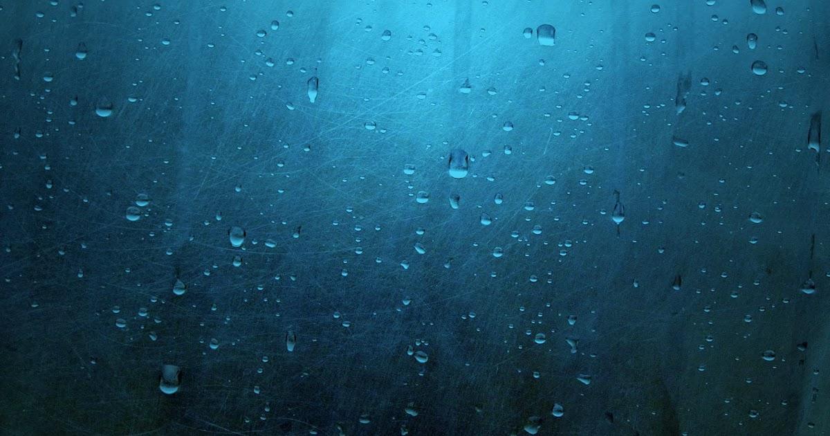 Fondo De Pantalla Abstracto Bolas Azules: Fondo De Pantalla Abstracto Cristal Con Gotas De Agua