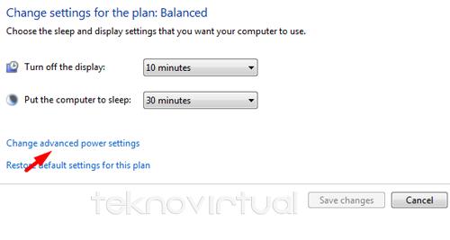 Cara Menambahkan Tombol Hibernate Windows 7 5