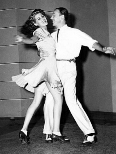 Hayworth and Astaire dancing in You Were Never Lovelier