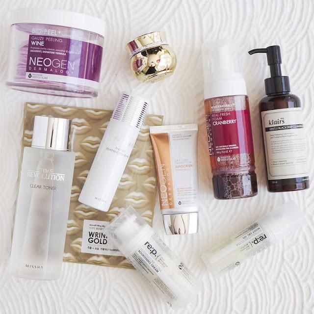 skincare routine coreana