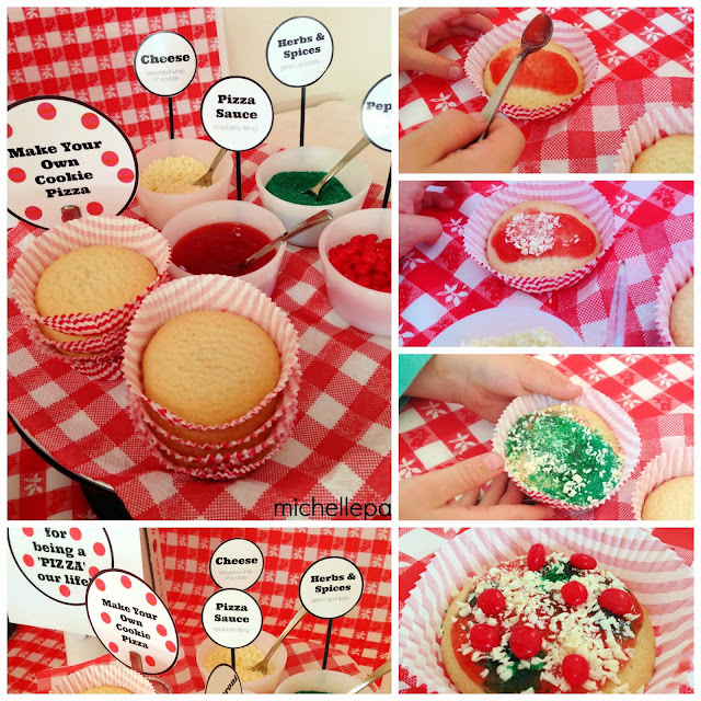 Sugar cookie pizzas@michellepaigeblogs.com