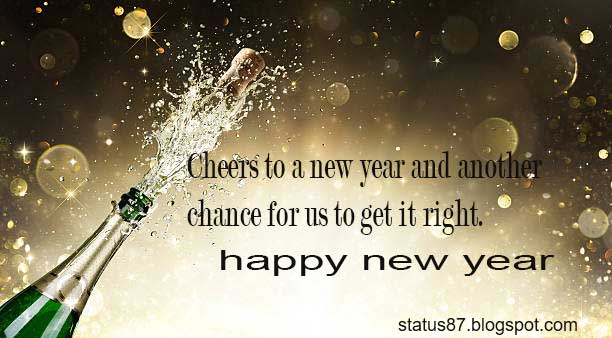 Happy New Year Status  2018    Best Happy New Year Quotes  Wishes     happy new year 2018