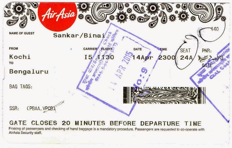 Airasia India Kochi To Bengaluru Again