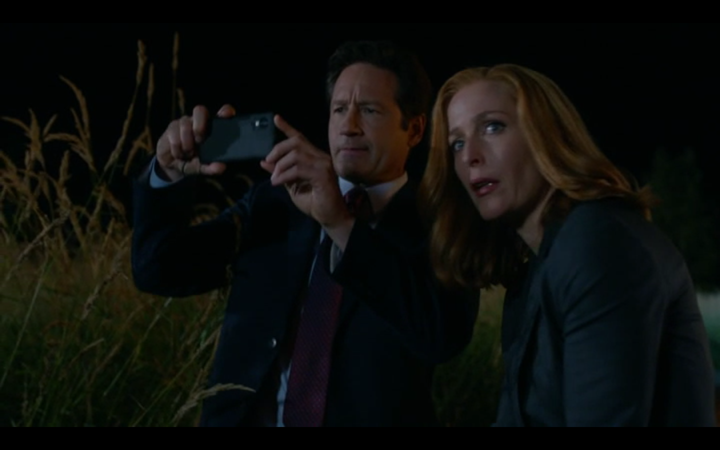 mulder and scully meet the were monster writer