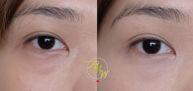 before and after photo of Innisfree Mineral Essential Concealer Review by Nikki Tiu of www.askmewhats.com from Althea