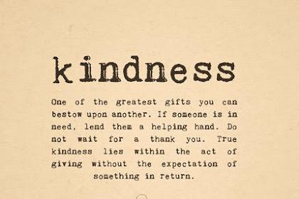 Semua Posting Tentang Inspirational Kindness Quotes For Kids Ada
