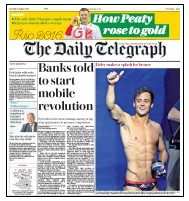 Telegraph Daley front