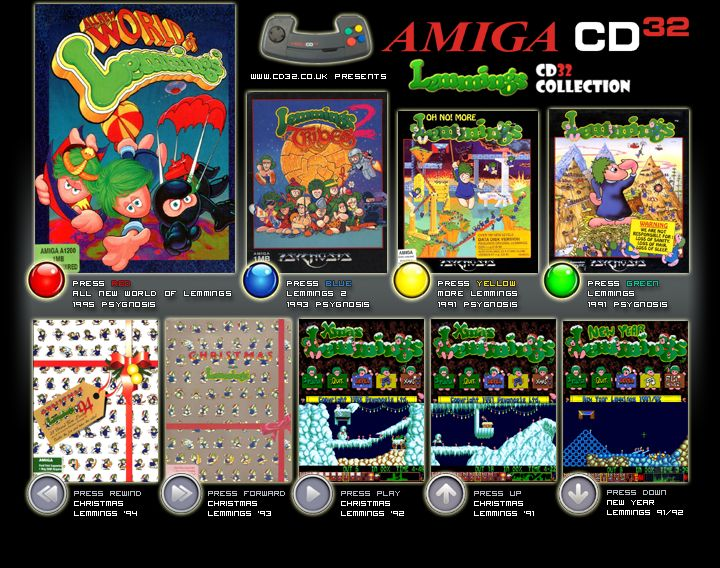 Lemmings amiga adf games