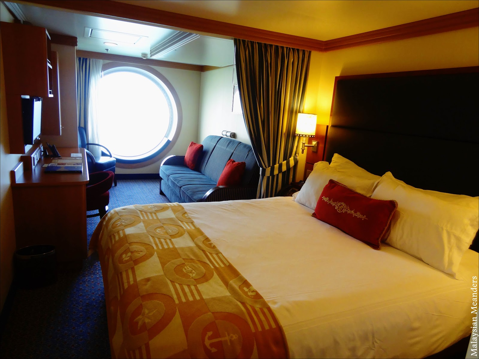 Malaysian Meanders: Cruising On The Disney Dream: Inside