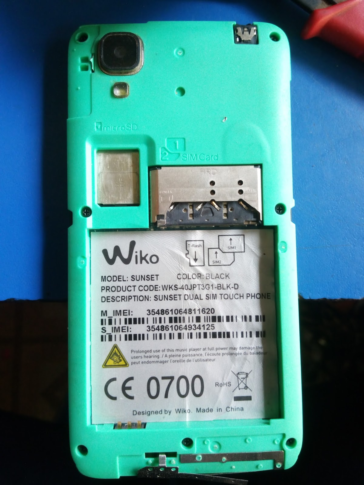 Wiko Sunset Mt6572 442 Firmware Flash File 100 Tested