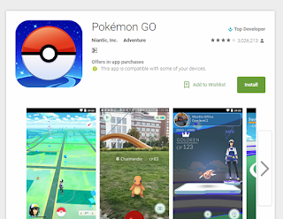 Pokemon Go Sudah Resmi Rilis DI Indonesia