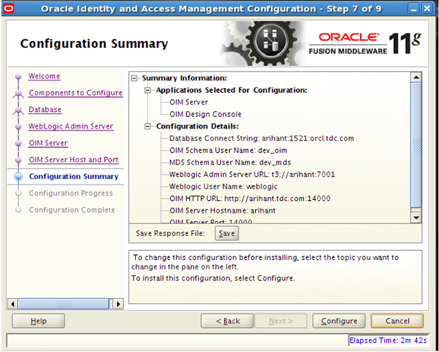 Cloud and Mobile Security: OIM 11G R2 PS3 Lab 1