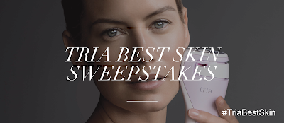 TRIA'S BEST SKIN SWEEPSTAKES! #AD