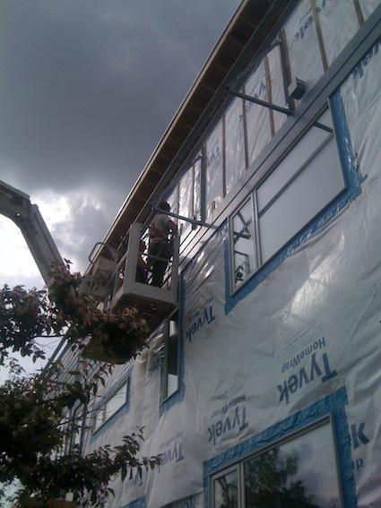 Chasing Net Zero Phew Hardie Plank Installed Ahead Of Pv