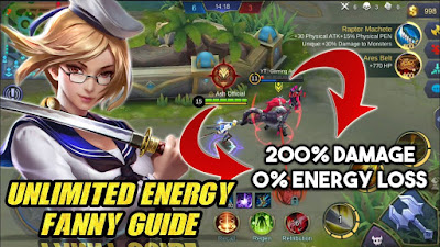 Cara Cheat Unlimited Energy Fanny Dengan Game Guardian
