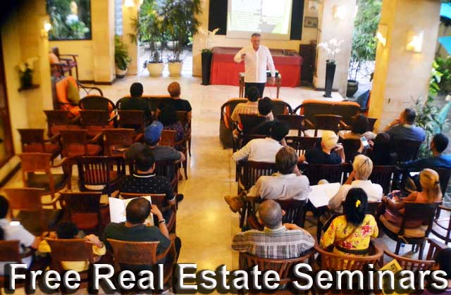 Free Bali Real Estate Seminars