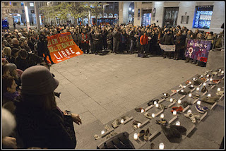 """Nueva concentración contra las violencias machistas en Zaragoza: """"Por Soraya, por todas"""""""