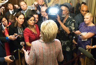 This Is Why Hillary Clinton Doesn't Do Many Press Conferences