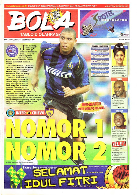 INTER MILAN VS CHIEVO RONALDO NO 1