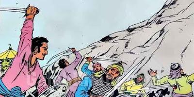 Gora and Badal fight Khilji