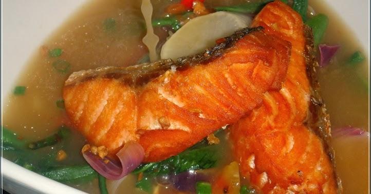 Sinigang Na Salmon At Bauhinia Filipino Cuisine