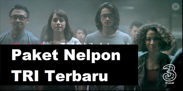 Cara Daftar Paket NELPON TRI Terbaru ke Semua Operator