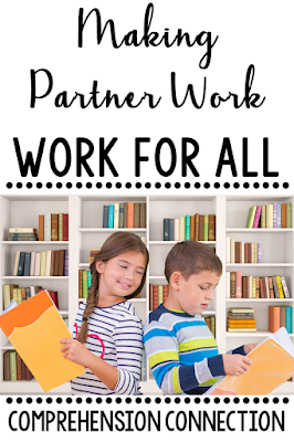 Partner work is so much fun for children, but how do you make it work for you too? This post includes several partner work options and how to make them work best. Check it out for new ideas you might try.
