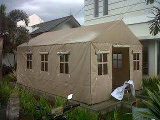 produksi dan penjualan berbagai macam tenda roder family di bandung