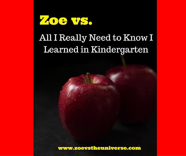One Kindergarten's wisdom
