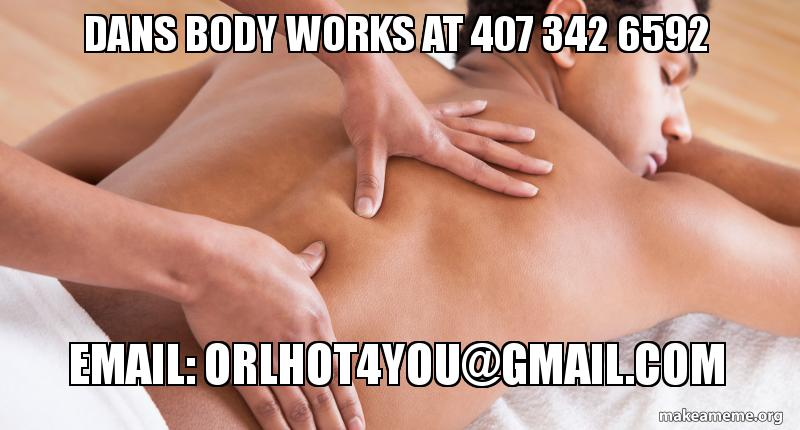 Massage in orlando for gay males