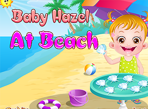 Baby Hazel at Beach
