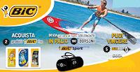 Logo Con BIC vinci 150 borsoni sport o 5 Sup Bic Sport