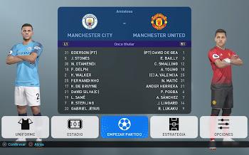 PES2019 | Option File | Ps4 | English Premier League [26.08.2018]
