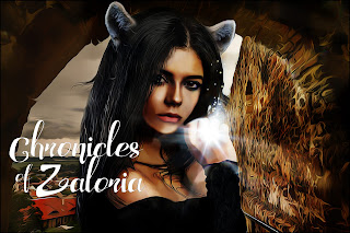 She-wolf, Chronicles of Zaloria, Acalia Itzchel, Young woman with wolf ears
