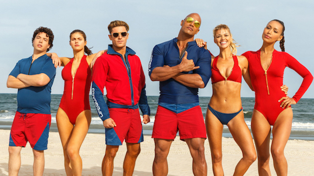 The Last Thing I See Baywatch 2017 Movie Review
