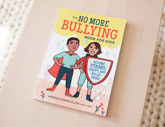 Illustrating 'The No More Bulling Book For Kids' - New Book News!