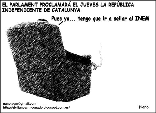 el villano arrinconado, humor, chistes, reir, satira, INEM, independencia catalunya