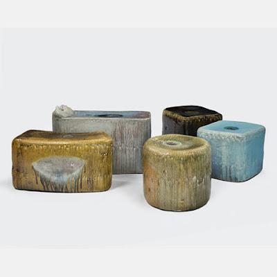 Diseño de mueble de cerámica.