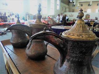 Detalle de teteras marroquies en Granadantigua