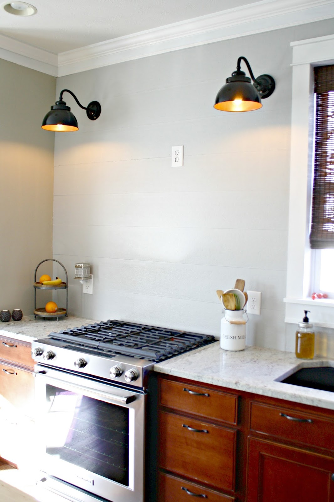 How To Install A Cement Board Planked Wall From Thrifty